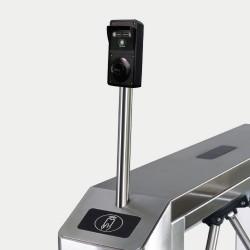 Встроенный считыватель и кронштейн для внешнего крепления оборудования (алкотестера)