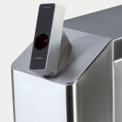 Крышка для внешнего крепления биометрических считывателей